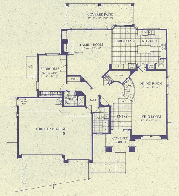 Options for 5 or 6 Bedroom Homes in McDowell Mountain Ranch – Centex Home Plans