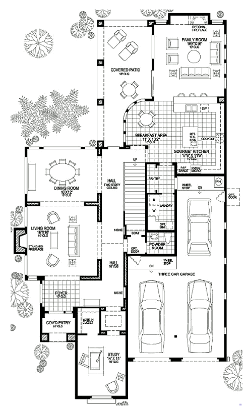 comp 1 is a mirasol floor plan by toll brothers